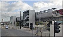 TQ4080 : West Silvertown DLR station, 2009 by Ben Brooksbank