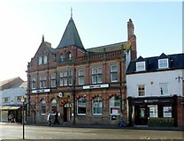 SK4933 : HSBC Bank, Market Place, Long Eaton by Alan Murray-Rust