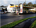 SN1107 : Shell filling station alongside the A478, Begelly by Jaggery