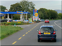 C3319 : Maxol Service Station (Callaghan's Motorway Stores), Burt by David Dixon