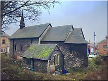 TQ7567 : St. Bartholomew's Chapel, Rochester by Chris Whippet