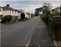 ST3090 : East along Pillmawr Road, Malpas, Newport  by Jaggery