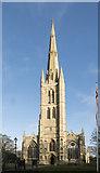 SK9136 : St Wulfram, Grantham by John Salmon