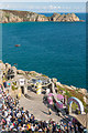 SW3822 : Minack Theatre and Horrace Headland by Ian Capper