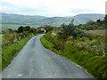 C3620 : The Road from Grianán of Aileach towards Burt by David Dixon