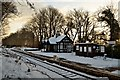 NC8401 : Dunrobin Castle Station in the Snow, Sutherland : Week 3
