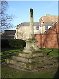 SO9422 : Cross in St Mary's churchyard by Philip Halling