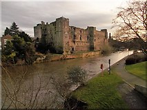 SK7954 : Newark castle by norman griffin