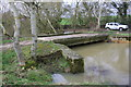 SP4819 : Bridge over branch of River Cherwell by Roger Templeman