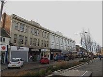NZ2787 : Shops, Station Road, Ashington by Graham Robson
