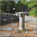 NN6207 : Sundial from Roman Camp by Gerald England