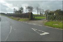 SX3961 : Lane to Notter by N Chadwick