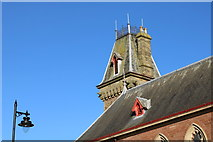 NX4355 : Town Hall Tower, Wigtown by Billy McCrorie