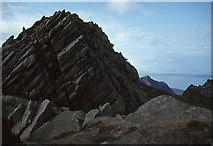 NR9743 : Cir Mhor summit rocks by Ian Taylor