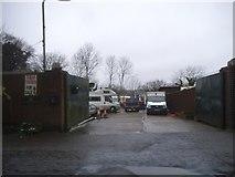 SU8992 : Caravan site on Cock Lane, High Wycombe by David Howard
