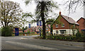 SP2476 : Main entrance to the new Elysian Gardens estate, Kenilworth Road, Balsall Common by Robin Stott