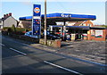 SJ3057 : Gulf and Costcutter, Mold Road, Caergwrle, Flintshire by Jaggery