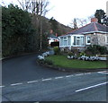 SJ3057 : Junction of Mold Road and Celyn Drive, Caergwrle, Flintshire by Jaggery