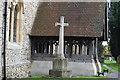 TL4948 : War Memorial, Church of St John by N Chadwick