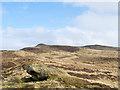 SE0050 : Embedded boulder on moorland by Trevor Littlewood