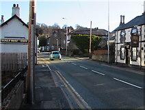 SJ3057 : Two High Street pubs, Caergwrle, Flintshire by Jaggery