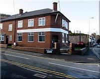 SJ3057 : Former HSBC bank branch, Caergwrle, Flintshire by Jaggery