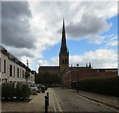 SJ8298 : Salford Cathedral by Gerald England