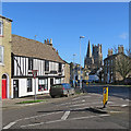 TL5380 : Ely: the corner of West End and St Mary's Street by John Sutton
