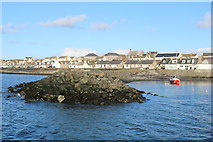 NX3343 : Breakwater at Port William by Billy McCrorie