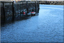 NX3343 : Sunken Boat by Billy McCrorie