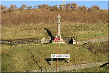 NX3343 : War Memorial, Port William by Billy McCrorie