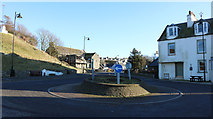 NX3343 : Roundabout, Port William by Billy McCrorie