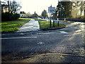 H4772 : Frosty footpath, Cranny by Kenneth  Allen