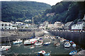 SS7249 : Lynmouth Harbour by Jeff Buck