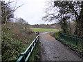 TQ2897 : Bridge in Trent Park by PAUL FARMER