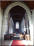 SO3958 : Interior of St Mary's Church, Pembridge by Philip Halling