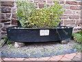 SJ7601 : Listed horse trough, Beckbury by Richard Law