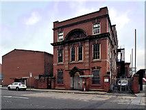 SJ8196 : Trafford Park Telephone Exchange by David Dixon