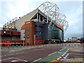 SJ8096 : Old Trafford, Concourse and East Stand by David Dixon
