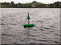 G9177 : Green Marker Buoy, Donegal Bay by David Dixon