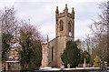 NY4059 : St John's Church, Houghton - February 2018 (1) by The Carlisle Kid
