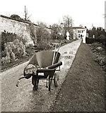 TQ1352 : Gardening in the Winter, Polesden Lacey by Des Blenkinsopp