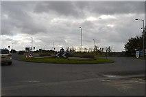 SX4160 : Roundabout, A388 by N Chadwick