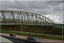 SX4160 : Footbridge, A38 by N Chadwick