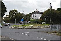 SX4159 : Roundabout, B3271 by N Chadwick
