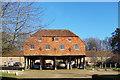 SU9344 : Granary at Home Farm, Peper Harow by Des Blenkinsopp