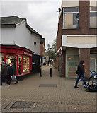 TM0458 : Marriotts Walk, off Ipswich Street, Stowmarket by Robin Stott