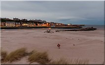 NJ2370 : Breakwater at Lossiemouth by valenta