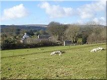 SX7481 : Wingstone Farm, Manaton by David Smith