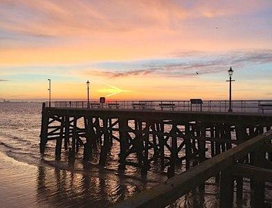 TA1028 : Victoria Pier, Hull by Paul Harrop